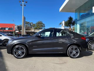 2016 BMW X4 F26 xDrive35d Coupe Steptronic Sophisto Grey Brilliant Effect 8 Speed Automatic Wagon