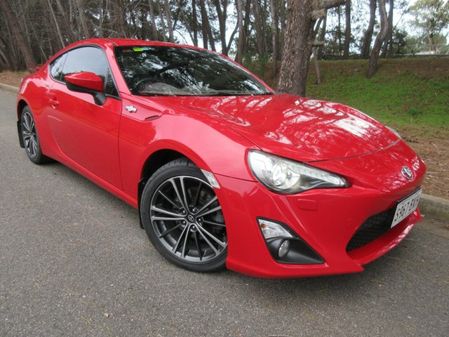 Used Toyota 86 ZN6 GTS Reynella, 2014 Toyota 86 ZN6 GTS Red 6 Speed Manual Coupe