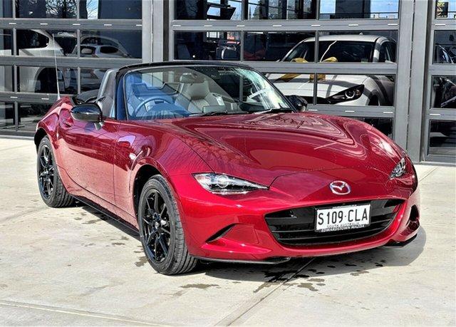 Demo Mazda MX-5 ND SKYACTIV-Drive Edwardstown, 2021 Mazda MX-5 SKYACTIV-Drive Roadster