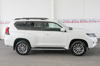 2018 Toyota Landcruiser Prado GDJ150R MY17 VX (4x4) Crystal Pearl 6 Speed Automatic Wagon