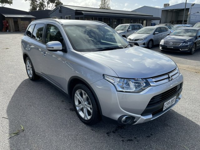 Used Mitsubishi Outlander ZJ MY14.5 LS 4WD Gepps Cross, 2014 Mitsubishi Outlander ZJ MY14.5 LS 4WD Silver 6 Speed Sports Automatic Wagon