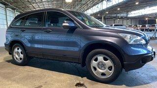 2009 Honda CR-V RE MY2007 4WD Grey 6 Speed Manual Wagon.