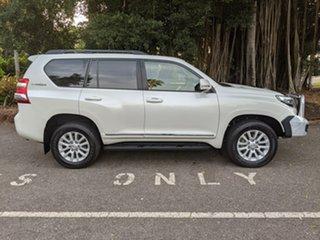 2017 Toyota Landcruiser Prado GDJ150R Altitude White 6 Speed Sports Automatic Wagon.