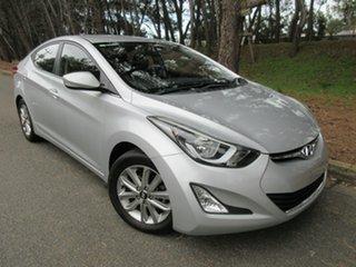 2014 Hyundai Elantra MD3 SE Silver 6 Speed Sports Automatic Sedan.