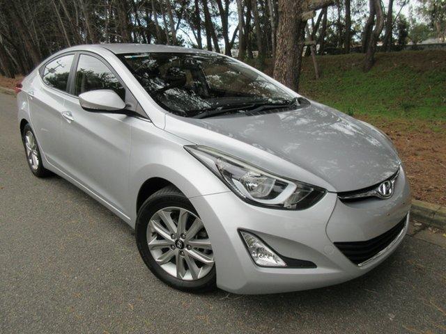 Used Hyundai Elantra MD3 SE Reynella, 2014 Hyundai Elantra MD3 SE Silver 6 Speed Sports Automatic Sedan