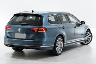 2018 Volkswagen Passat 3C (B8) MY18 206TSI DSG 4MOTION R-Line Blue 6 Speed.