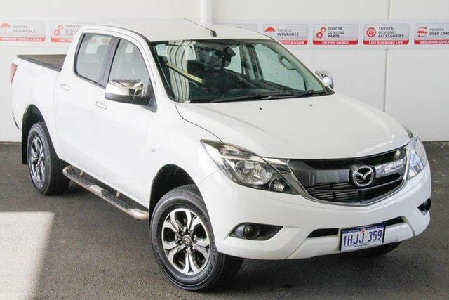 Pre-Owned Mazda BT-50 MY16 XTR (4x4) Myaree, 2016 Mazda BT-50 MY16 XTR (4x4) White 6 Speed Automatic Dual Cab Utility