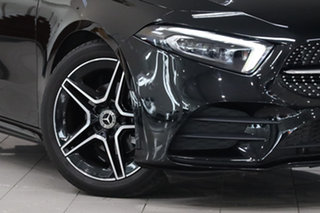 2021 Mercedes-Benz A-Class W177 801+051MY A180 DCT Cosmos Black 7 Speed Sports Automatic Dual Clutch