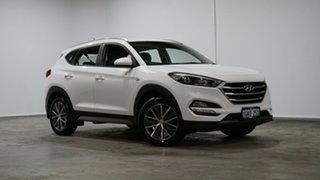 2016 Hyundai Tucson TL MY17 Active X 2WD White 6 Speed Sports Automatic Wagon.