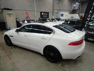 2015 Jaguar XE Prestige White Diamond 8 Speed Automatic Sedan