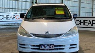 2000 Toyota Tarago ACR30R Ultima White 4 Speed Automatic Wagon