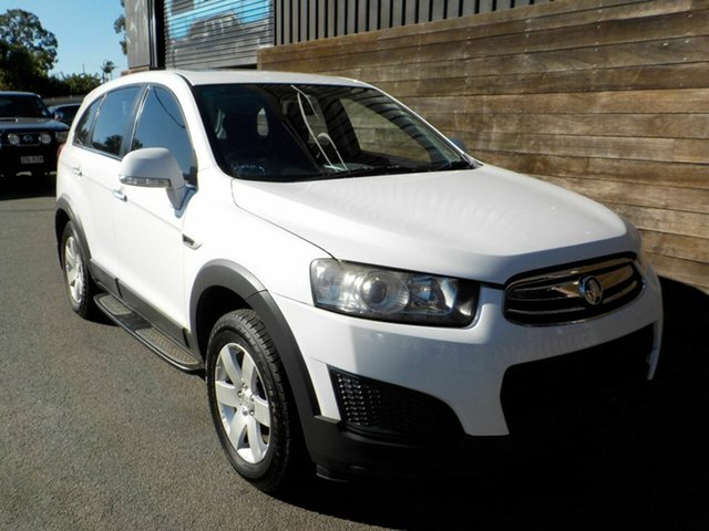 Used Holden Captiva CG MY14 7 LS Labrador, 2014 Holden Captiva CG MY14 7 LS White 6 Speed Sports Automatic Wagon