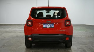 2015 Jeep Renegade BU MY16 Sport DDCT Red 6 Speed Sports Automatic Dual Clutch Hatchback