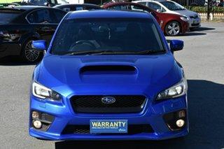 2015 Subaru WRX MY15 (AWD) Blue 6 Speed Manual Sedan.
