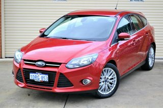 2011 Ford Focus LW Sport PwrShift Red 6 Speed Sports Automatic Dual Clutch Hatchback.