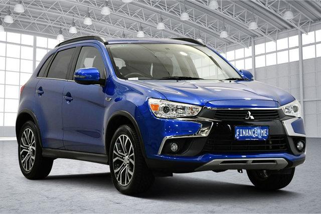 Used Mitsubishi ASX XC MY17 LS 2WD Victoria Park, 2017 Mitsubishi ASX XC MY17 LS 2WD Blue 6 Speed Constant Variable Wagon