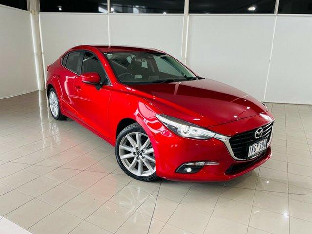 Used Mazda 3 BN5236 SP25 SKYACTIV-MT GT Deer Park, 2017 Mazda 3 BN5236 SP25 SKYACTIV-MT GT Red 6 Speed Manual Sedan