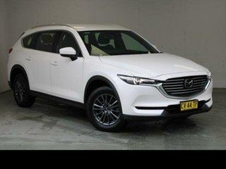 2019 Mazda CX-8 KG B Sport (FWD) White 6 Speed Automatic Wagon