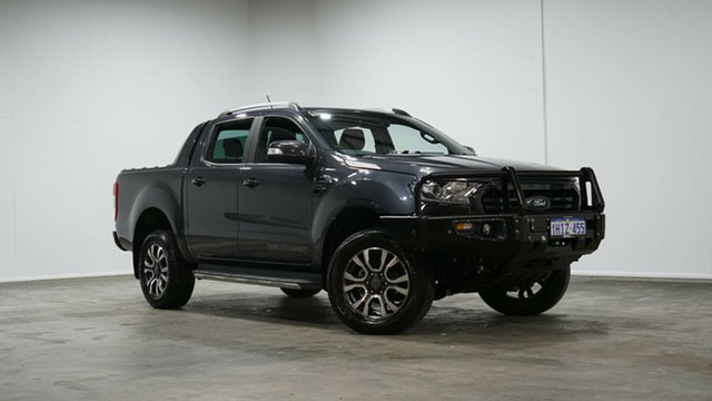 Used Ford Ranger PX MkIII 2019.00MY Wildtrak Welshpool, 2019 Ford Ranger PX MkIII 2019.00MY Wildtrak Grey 10 Speed Sports Automatic Double Cab Pick Up