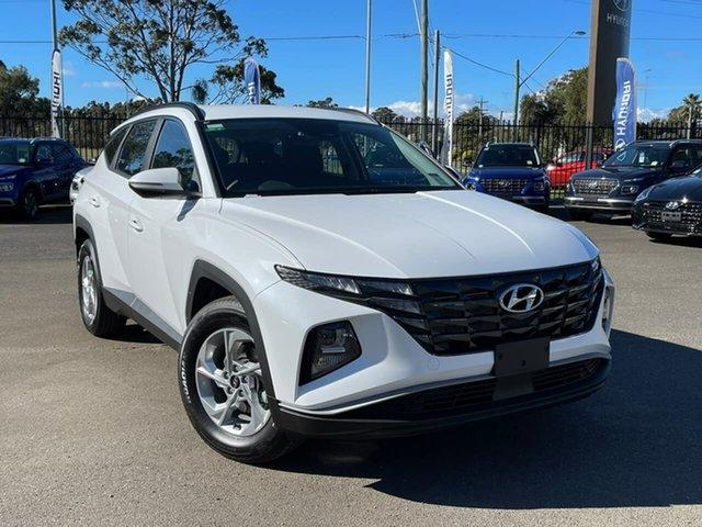 Demo Hyundai Tucson NX4.V1 MY22 2WD Penrith, 2021 Hyundai Tucson NX4.V1 MY22 2WD White Cream 6 Speed Automatic Wagon