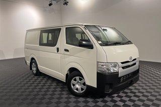 2016 Toyota HiAce KDH201R Crewvan LWB French Vanilla 4 speed Automatic Van Wagon.