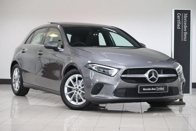 Certified Pre-Owned Mercedes-Benz A-Class W177 801+051MY A180 DCT Mulgrave, 2021 Mercedes-Benz A-Class W177 801+051MY A180 DCT Mountain Grey 7 Speed