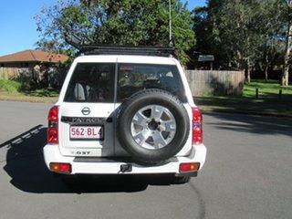 2015 Nissan Patrol Y61 GU 10 ST White 5 Speed Manual Wagon