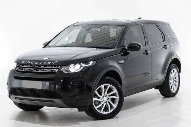 Used Land Rover Discovery Sport L550 19MY SE Berwick, 2019 Land Rover Discovery Sport L550 19MY SE Black 9 Speed Sports Automatic Wagon