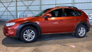 2011 Subaru Impreza G3 MY11 XV AWD Mizuno Orange 4 Speed Sports Automatic Hatchback.
