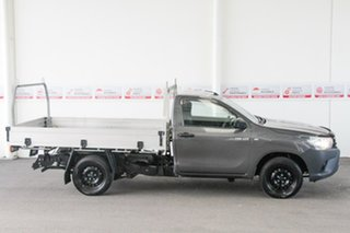 2015 Toyota Hilux TGN121R Workmate Graphite 5 Speed Manual Cab Chassis