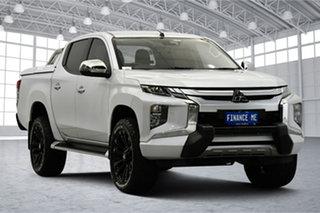 2019 Mitsubishi Triton MR MY19 GLS Double Cab Premium White 6 Speed Sports Automatic Utility.