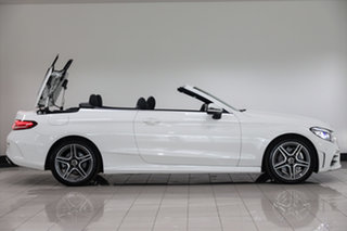 2020 Mercedes-Benz C-Class A205 800+050MY C200 9G-Tronic Polar White 9 Speed Sports Automatic