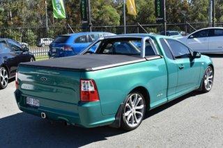 2012 Ford Falcon FG MK2 XR6 Green 6 Speed Auto Seq Sportshift Utility