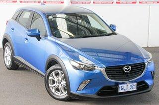 2018 Mazda CX-3 DK MY17.5 Maxx (FWD) Blue 6 Speed Automatic Wagon.