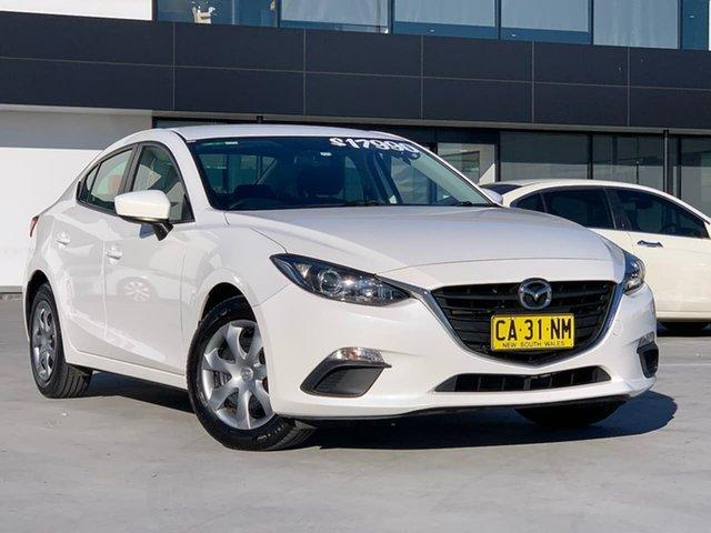 Used Mazda 3 BM5276 Neo SKYACTIV-MT Liverpool, 2014 Mazda 3 BM5276 Neo SKYACTIV-MT White 6 Speed Manual Sedan