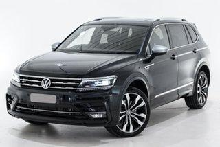 2019 Volkswagen Tiguan 5N MY20 162TSI Highline DSG 4MOTION Allspace Black 7 Speed.