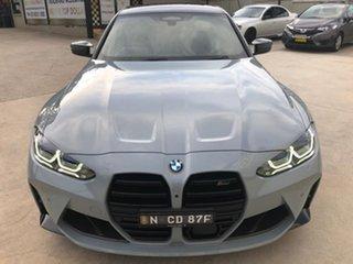2021 BMW M3 Competition Grey Sports Automatic Sedan.
