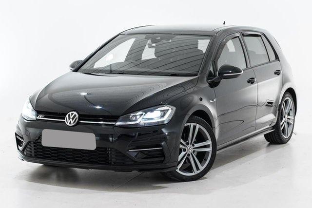 Used Volkswagen Golf 7.5 MY18 110TSI DSG Highline Berwick, 2018 Volkswagen Golf 7.5 MY18 110TSI DSG Highline Black 7 Speed Sports Automatic Dual Clutch