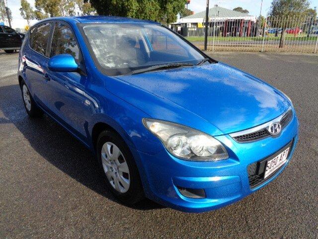 Used Hyundai i30 FD MY11 SX Elizabeth, 2010 Hyundai i30 FD MY11 SX Blue 5 Speed Manual Hatchback