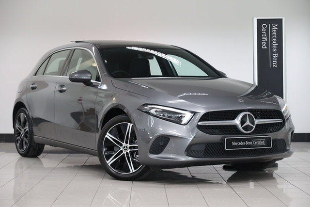 Certified Pre-Owned Mercedes-Benz A-Class W177 801+051MY A250e DCT Mulgrave, 2021 Mercedes-Benz A-Class W177 801+051MY A250e DCT Mountain Grey 8 Speed