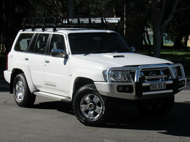 Used Nissan Patrol Y61 GU 10 ST, 2015 Nissan Patrol Y61 GU 10 ST White 5 Speed Manual Wagon