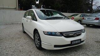 2008 Honda Odyssey 3rd Gen MY07 Luxury White 5 Speed Sports Automatic Wagon.