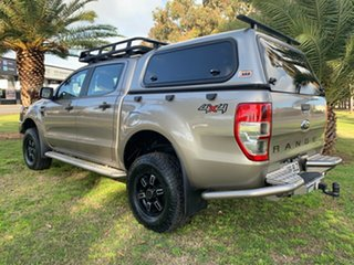 2014 Ford Ranger PX XLT Double Cab Champagne 6 Speed Sports Automatic Utility