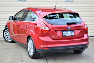 2011 Ford Focus LW Sport PwrShift Red 6 Speed Sports Automatic Dual Clutch Hatchback