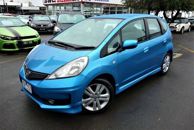 Used Honda Jazz GE MY11 VTi Seaford, 2011 Honda Jazz GE MY11 VTi Blue 5 Speed Automatic Hatchback