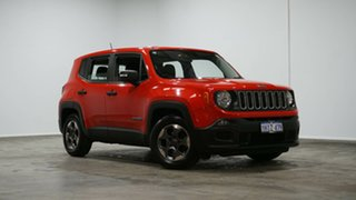 2015 Jeep Renegade BU MY16 Sport DDCT Red 6 Speed Sports Automatic Dual Clutch Hatchback.