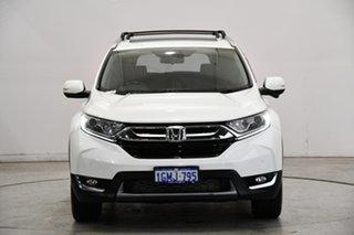 2018 Honda CR-V RW MY18 VTi-L FWD White 1 Speed Constant Variable Wagon.