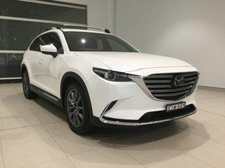 2020 Mazda CX-9 TC Azami SKYACTIV-Drive i-ACTIV AWD Snowflake White 6 Speed Sports Automatic Wagon.