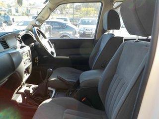 2010 Nissan Patrol GU 7 MY10 ST White 5 Speed Manual Wagon