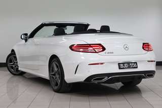 2020 Mercedes-Benz C-Class A205 800+050MY C200 9G-Tronic Polar White 9 Speed Sports Automatic.